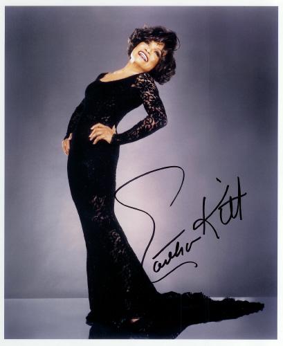 Eartha Kitt Autograph