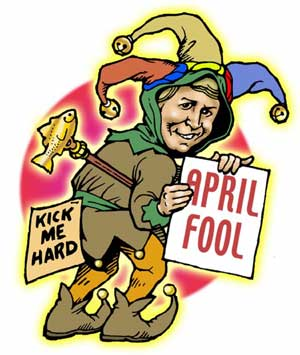 HAPPY APRIL FOOLS' DAY!