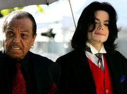 Joseph and Michael Jackson