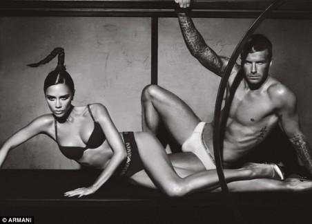 Beckhams - Giorgio Armani (2)