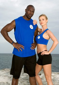 Terrell Owens and Joanna Krupa