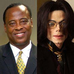 Dr Conrad Murray and Michael Jackson