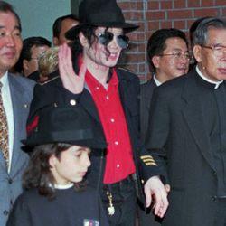 Michael Jackson and Omer Bhatti