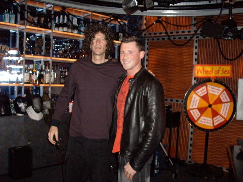 Howard Stern and Barrett Long
